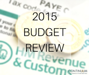 2015 Budget Review