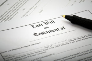 making your will
